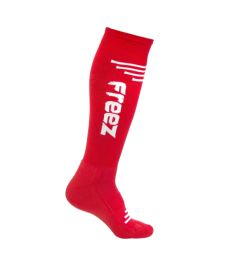 FREEZ QUEEN-2 LONG SOCKS RED 39-42 - Long socks and socks