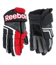 Hokejové rukavice REEBOK 26K black/red/white senior - 13""