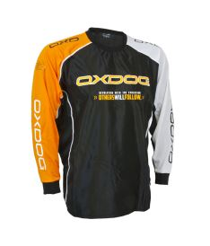 OXDOG TOUR GOALIE SHIRT BLACK/OR, no padding - Pullover