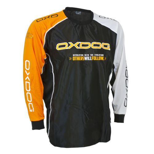OXDOG TOUR GOALIE SHIRT BLACK/OR, no padding XL - Pullover