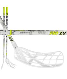 EXEL F60 WHITE 2.9 98 OVAL MB R - Floorball stick for adults