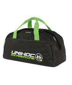 Unihoc Oxygen line sport bag black 25 L