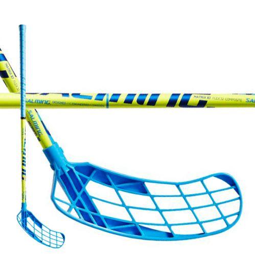 SALMING Matrix 32 Yellow/Blue 87/98 L - Floorball sticks for children