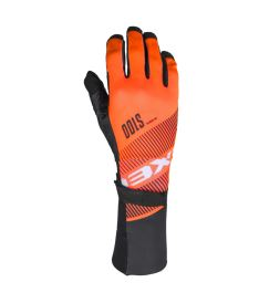 EXEL S100 GOALIE GLOVES LONG orange/black - Gloves
