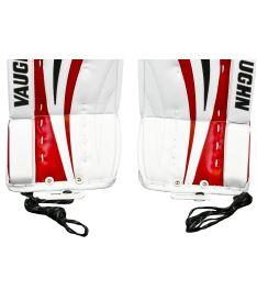 """GOALIE LEG PADS VAUGHN VELOCITY V7 XR white/black/red int - 31+2"""" - Pads"""