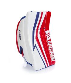 VAUGHN BLOCKER VELOCITY V9 EXE PRO CARBON white/red/blue senior - FR