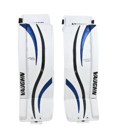 "Goalie pads VAUGHN GP VENTUS LT80 white/black/blue senior - 30+2"" - Schienen"