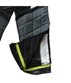 PRECISION GOALIE PANTS black/yellow