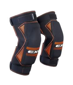 EXEL S100 KNEE GUARD senior black/orange XXL - Schoner und Schutzwesten