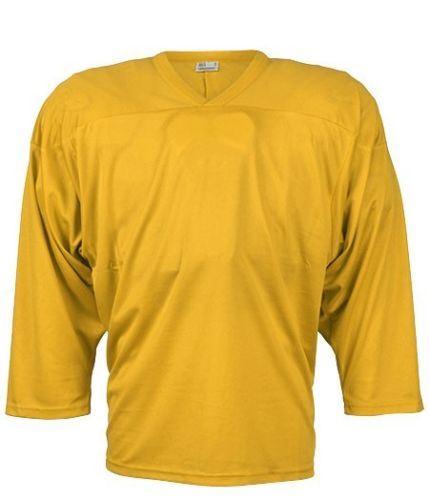CCM JERSEY 10200 yellow junior - L/XL - Trikot