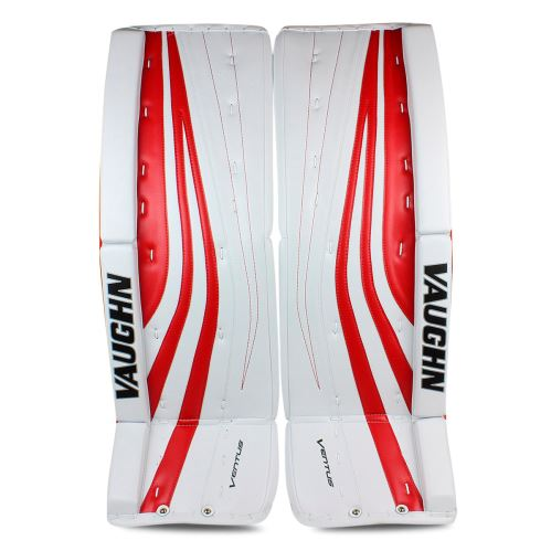 Goalie pads VAUGHN GP VENTUS SLR PRO white/red senior - 34+2