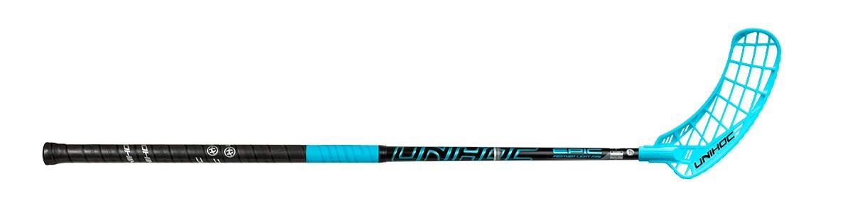 UNIHOC STICK EPIC Feather Light 26 Black Blue 100cm