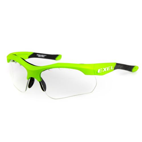 EXEL X100 EYE GUARD junior green - Protection glasses