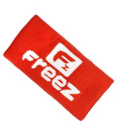 Sportovní potítko FREEZ QUEEN WRISTBAND LONG red/white