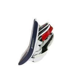 GOALIE BLOCKER VAUGHN VELOCITY V7 XR CARBON PRO white/navy/red senior - REG - Blocker gloves