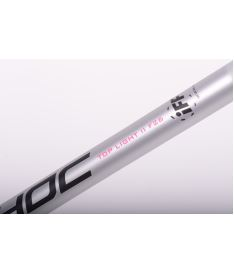 UNIHOC STICK EPIC GLNT Top Light II 26 silver 104cm - Floorball stick for adults