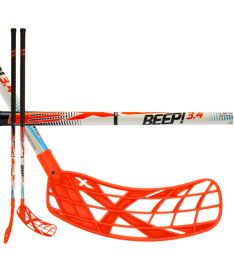 EXEL BEEP! 3.4 white 95 ROUND SB L  - Floorball stick for adults