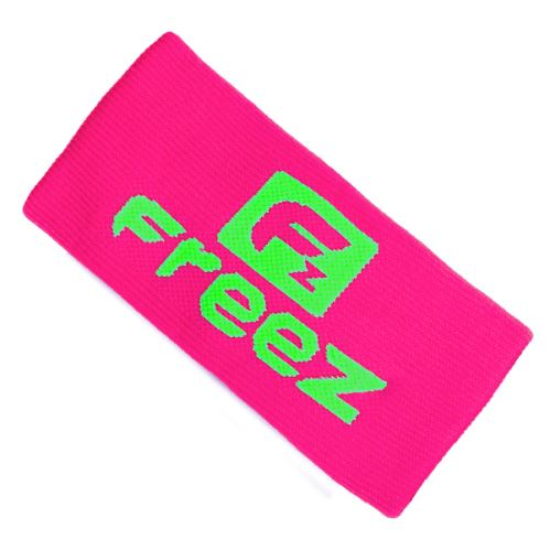 FREEZ QUEEN WRISTBAND LONG pink/lime  - Schweißbänder