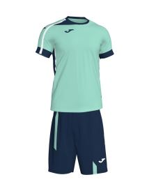 JOMA ROMA II SET GREEN-DARK NAVY S/S