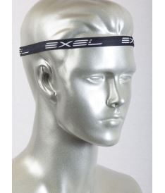 EXEL THIN HEADBAND ESSENTIALS - 2 pcs BLACK/WHITE