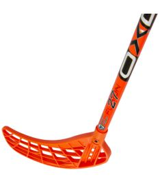 OXDOG FUSION 27 neon orange 101 OVAL MB R '15 - Floorball stick for adults