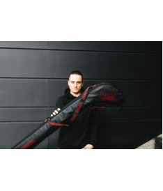 ZONE Stick cover BRILLIANT senior 92-104cm black/red