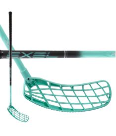 EXEL PURE XIX BLACK-MINT 2.9 98 ROUND MB - Floorball stick for adults