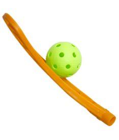 OXDOG AVOX CARBON MBC orange R - floorball blade