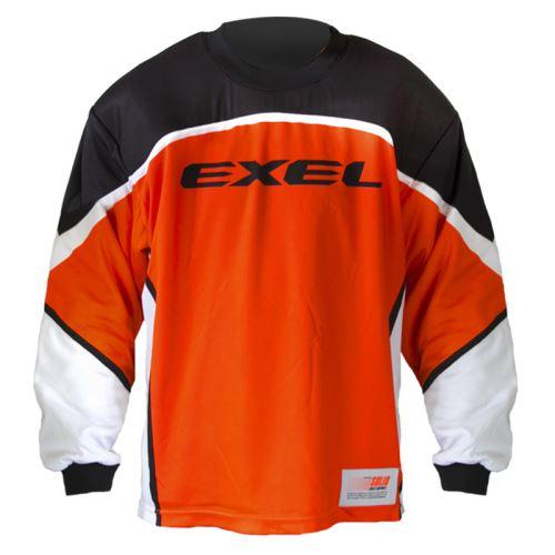 EXEL S100 GOALIE JERSEY orange/black XXL - Pullover