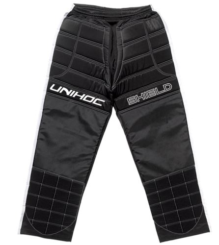 UNIHOC GOALIE PANTS SHIELD black/white S - Torhüter
