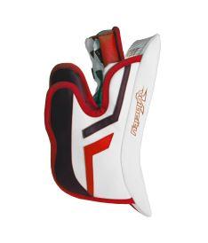 GOALIE BLOCKER VAUGHN V ELITE-2 white/red/black junior - REG - Blocker gloves