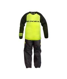 EXEL G3 GOALIE PROTECTION SET black/yellow  M**