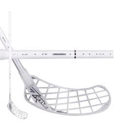 ZONE STICK MONSTR AIRLIGHT 27 white/silver 100cm - Floorball-Schläger für Erwachsene