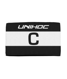 UNIHOC CAPTAIN'S BAND SKIPPER black/white