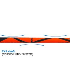 EXEL HELIX 2.9 PC 98 ROUND  '15 - Floorball stick for adults