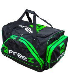 Sportovní taška na kolečkách FREEZ WHEELBAG MONSTER-80 BLACK-GREEN