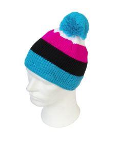 OXDOG COOL WINTER HAT turquoise/pink S/M - Caps und Mützen
