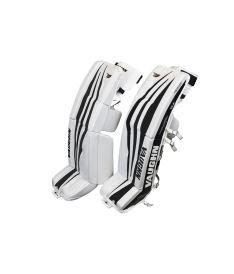"""GOALIE LEG PADS VAUGHN VELOCITY V7 XR white/black int - 31+2"""" - Pads"""