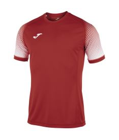 JOMA TSHIRT HISPA RED-WHITE S/S