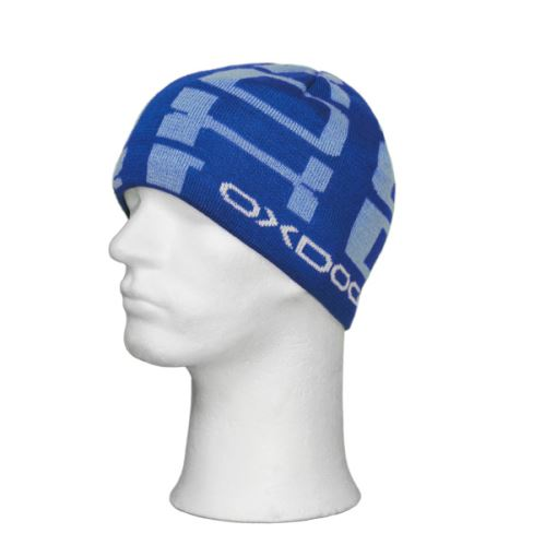 Čepice OXDOG ROCK WINTER HAT blue/light blue/white