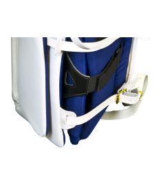 GOALIE LEG PADS VAUGHN VELOCITY V7 XR CARBON PRO white senior - 35+3 Ciliak - Pads