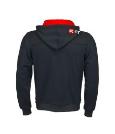 FREEZ VICTORY ZIP HOOD black/red junior 150  - Hoodies