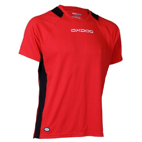OXDOG AVALON SHIRT red junior - T-Shirts