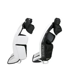 "Goalie pads VAUGHN GP VENTUS SLR white/black youth - 22+2"" - Pads"