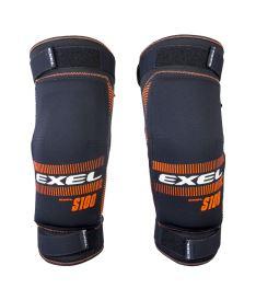 EXEL S100 KNEE GUARD senior black/orange L - Chrániče a vesty