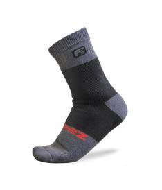 Sportovní kompresní ponožky FREEZ MID COMPRESS SOCKS black
