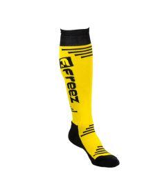 FREEZ QUEEN LONG SOCKS YELLOW 35-38 - Stutzen und Socken