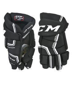 CCM HG QUICKLITE black/white senior - 14""