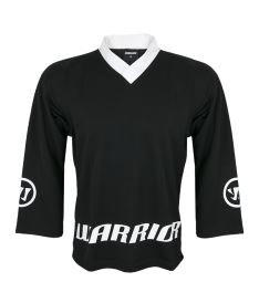 WARRIOR JERSEY LOGO black