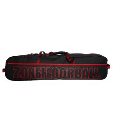 ZONE Toolbag BRILLIANT senior black/red (20 sticks)